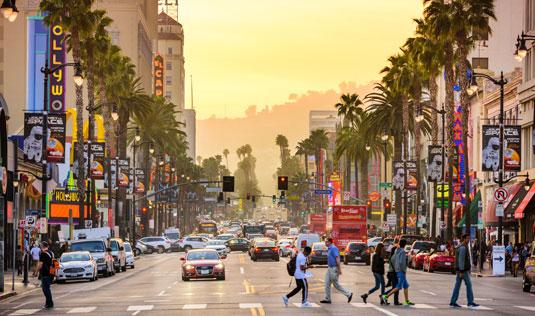 Los Angeles street scene, home of Scion Los Angeles Creative Staffing