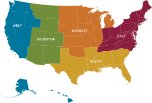 Scion Executive Search Regions