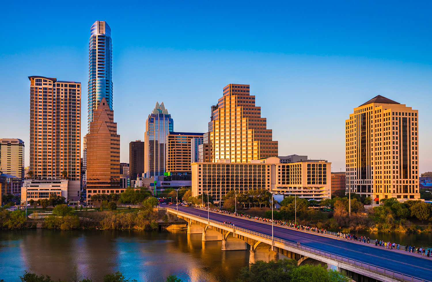 Image of Austin Texas. Scion Staffing has a location in Austin