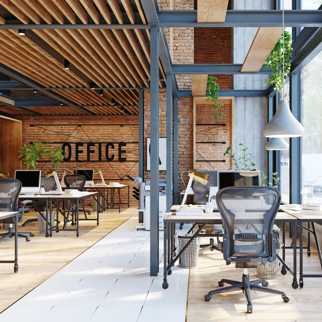 team player: collaborative office setting